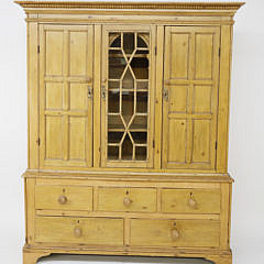 1-4431 Irish Pine Breakfront Cabinet A_MG_2458