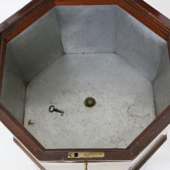 English Regency Mahogany Brass Bound Cellarette, early 19th c.