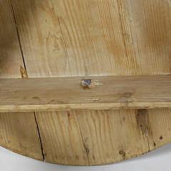 Antique Pine Cricket Table
