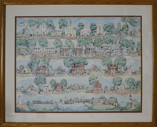 """4-4822 1959 Ruth Haviland Sutton, """"A Group of Historic Items"""", Lithograph A_MG_2549"""