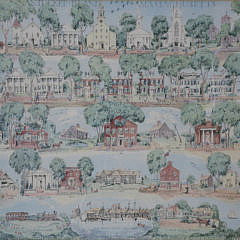 """1959 Ruth Haviland Sutton, """"A Group of Historic Items"""", Lithograph"""