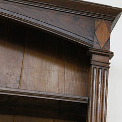 19th C. French Carved Walnut Vaisselier