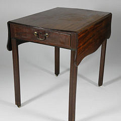 19th Century English Mahogany Pembroke Table