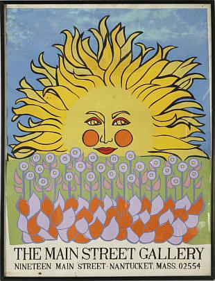 60-4878 Main Street Gallery Nantucket Silk Screen Poster A_MG_2545
