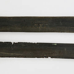 Two 19th Century Baleen Busks