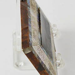 Group of 5 19th c. Tortoiseshell and Mother of Pearl Card Holders