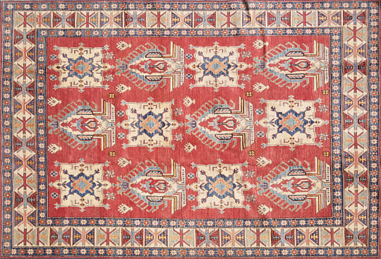 1-4595 Shirvan Kazak Carpet A 20200912_112946