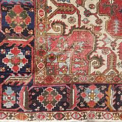 Vintage Hand Woven Heriz Carpet, circa 1940s