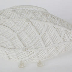 Vintage Reticulated Porcelain Fish Platter