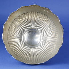 Sterling Silver Pedestal Fruit Bowl
