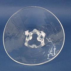 Signed Steuben Crystal Centerpiece Bowl