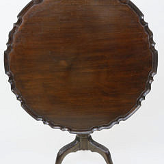 15-4878 Chippendale Pie Crust Tilt Top Table A_MG_4334