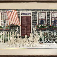 "18-3843 Barbara Kauffmann Locke ""Fourth of July"" A IMG_4542"