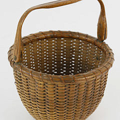 2352-955 Finely Woven Nantucket Swing Handle Basket A_MG_3829