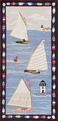 2357-955 Clair Murry Sail Boat Runner 4.11×2.4 A 20200912_101741