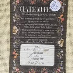 Claire Murray Nantucket Harbor Hooked Rug Runner