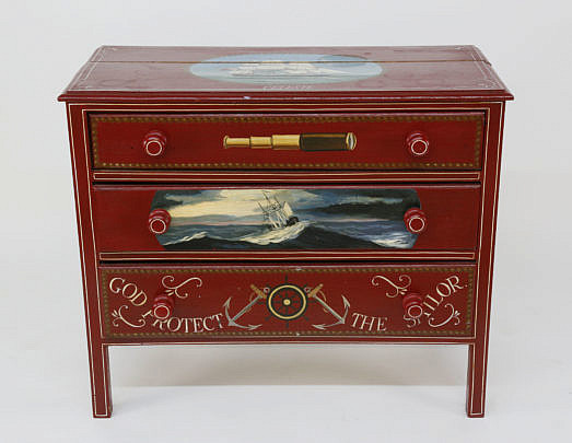 26-4892 Red Nautical 3 Drawer Chest A_MG_4429