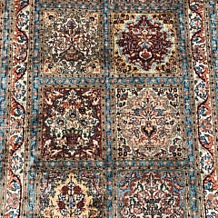 Hand Knotted Silk Carpet