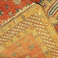 Antique Tribal Hand Woven Oriental Carpet