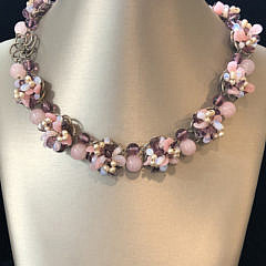 298-4800 Rose Quartz Choker A IMG_4108