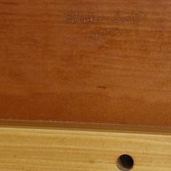 Stephen Swift Cherry Full Size Bed Frame, circa 2003