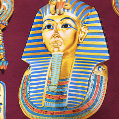 Hermès Tutankhamun Silk Scarf