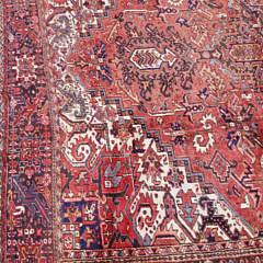 Vintage Heriz Carpet circa 1940s