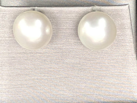 40904 White South Sea Pearl Earrings IMG_4233