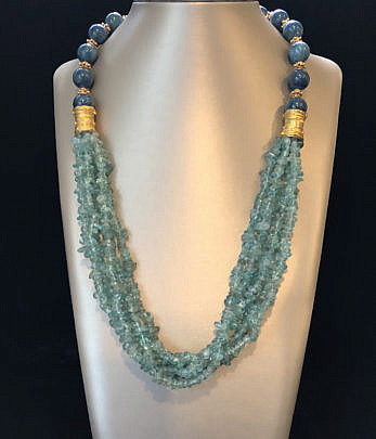 41311 Green Apetite Bead Necklace A IMG_4185