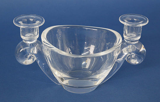 41361 Steuben Clear Crystal Double Candle-Holder Bowl A_MG_3323