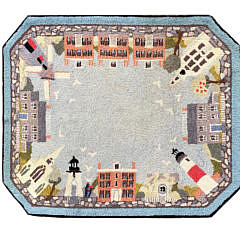 5-4388 Claire Murray Nantucket Village Rug A IMG_4627
