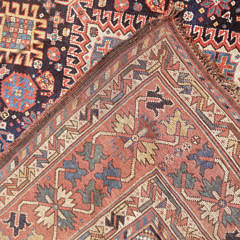Antique Tribal Kazak Carpet