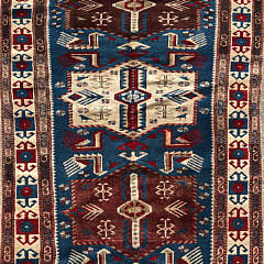 51-4332 Caucasian Geometric Carpet A IMG_4634