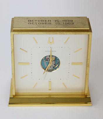 53-4878 Brass Accutron Presentation Desk Clock A_MG_3654