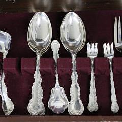 116 Piece Gorham Strasbourg Sterling Silver Flatware Service