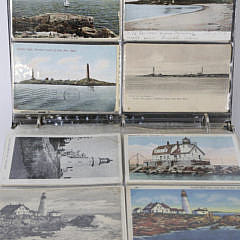 61-4147 Collection of Old U.S. Lighthouse Postcards A_MG_4202