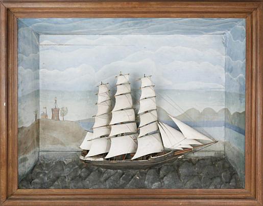 "7-4810 Shadow Box of the ship ""Amesia"" A_MG_4360"