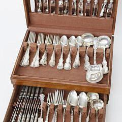 41401 76 Piece Sterling Silver Flatware Service A_MG_4318