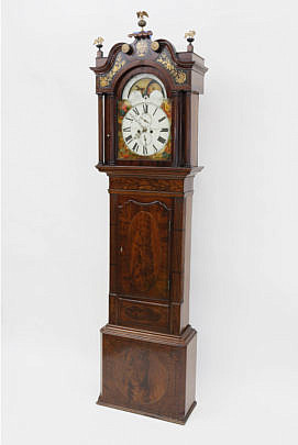 1-4906 James Donking Allegorical Grandfather Clock A_MG_4630
