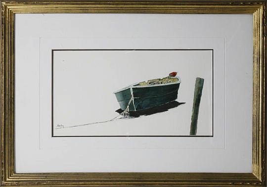 "1-4913 Roy Bailey watercolor ""Dory"" A_MG_5202"