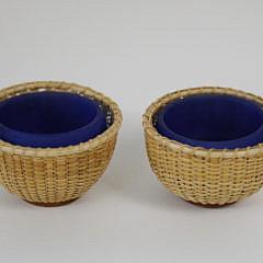 11-4641 Pair of Nantucket Basket Salts A_MG_5707