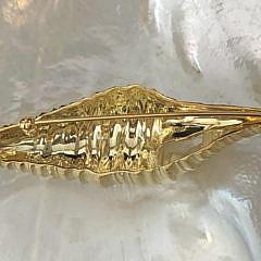 Tiffany & Co. 18k Yellow Gold Seashell Brooch