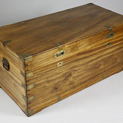 12-4912 19th c. Chinese Export Camphorwood Trunk A_MG_5320