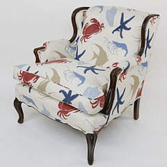 Duralee Pavilion Upholstered Club Chair