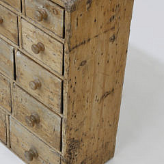 40 Drawer Pine Apothecary Chest, 19th Century