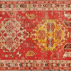 1552-54 Vintage Turkish Tribal Geometric Design Carpet A 20201024_104304