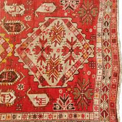 Vintage Turkish Hand Woven Carpet