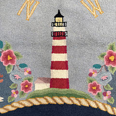 """Hand Hooked Martin Imports Rug """"70 Summer Breeze"""""""