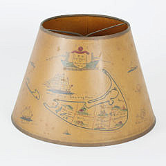 1563-54 Vintage Nantucket Lamp Shade A_MG_6042