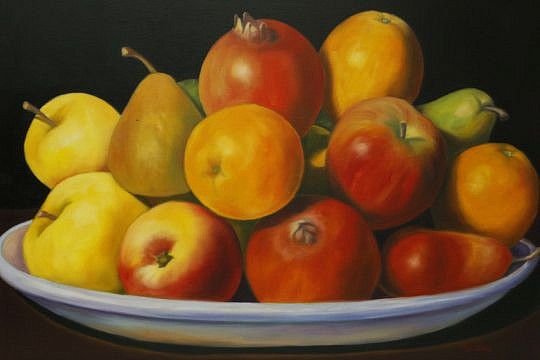 "19-4209 oil on canvas ""Fruit Harvest"" A_MG_4673"
